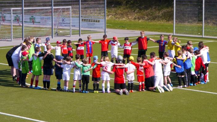 Jugendtraining des 1. FC Niederkassel